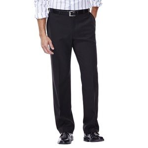 Haggar® Classic-Fit Flat-Front Dress Pants